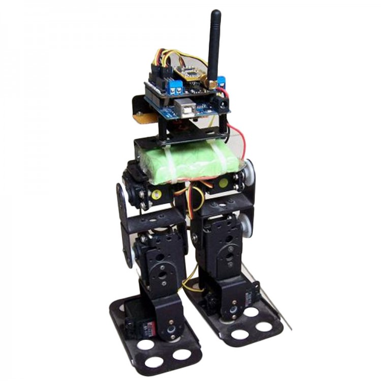 Biped Walking Robot Humanoid Robotics Kit With Df15mg