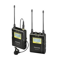 Saramonic RX10+TX10 96-Channel UHF Wireless Lavalier Microphone System for DSLR UWMIC10