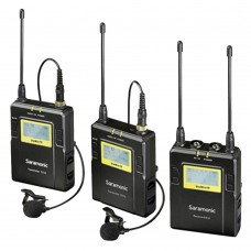 Saramonic RX10+TX10x2 96-Channel UHF Wireless Lavalier Microphone System for DSLR UWMIC10