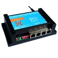 4 in 4 out 10A Relay 4 Port Network Switch Control Board TCP UDP Ethernet Internet WEB Android Control