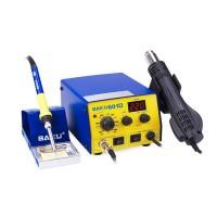 BAKU BK-601D 110V LED Digital Brushless Hot Air Gun SMD Rework Station Solder Iron