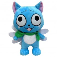 Anime Fairy Tail Habib Standing Naz Cat Doll Stuffed Toy Animation Cartoon Super Wings Plush Toy