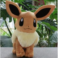Pokemon Go Eevee Plush Toy Doll Pocket Monster Eevee Stuffed Plush Toys Figure Gift for Kids