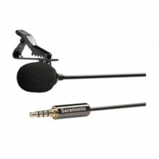 Saramonic SR-LMX1 Smart Phone Lavalier Microphone Clip-on Mic for iOS Android