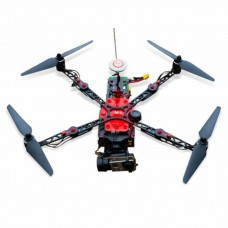 XuGong Carbon Fiber FPV Quadcopter Frame Foldable 4 Axis Drone Integrated Brushless Gimbal