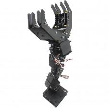 6DOF Robot Mechanical Arm Hand Clamp Claw Manipulator Frame for Arduino DIY