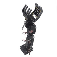 6DOF Robot Mechanical Arm Hand Clamp Claw Manipulator w/ LD-1501MG Servo for Arduino DIY