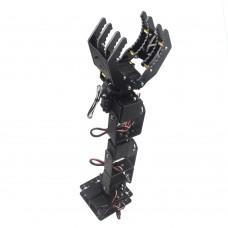 6DOF Robot Mechanical Arm Hand Clamp Claw Manipulator w/ LD-1501MG Servo for Arduino DIY