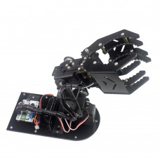 4DOF Robot Mechanical Arm Hand Clamp Claw Manipulator Frame w/ Servo Horn for Arduino DIY