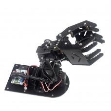 4DOF Robot Mechanical Arm Hand Clamp Claw Manipulator w/ Servo Horn MG996R Servo for DIY