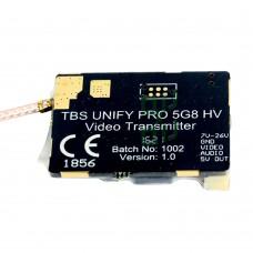 TBS UNIFY PRO 5G8 40CH Video Transmitter Tx 25-800mw 5V for FPV QAV Quadcopter Drone