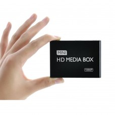 Full HD 1080P Car Media Player Box HDMI AV Output SD MMC Card Reader USB for TV