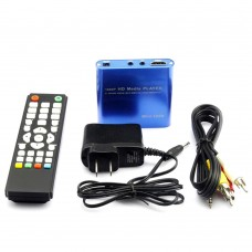 Multi-Functional 1080P HDMI Input HD HDD Hard Disk Media Player Support SD USB IR Remote Controller MP021