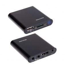 Mini 1080P HD Media Player HDMI AV Output HDD U-Disk Video Player Support USB Host Black
