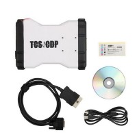 CDP TcsCDP Pro+ OBD2 Scanner Flight Recorder Voltage Check Diagnostic Tool for Car Truck