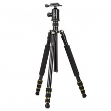 T-2504C Tripod Holder + Gimbal Multidirection Central Axis for DSLR Camera Photography