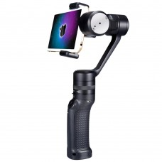 Wewow Black P3 3 Axis Handheld Brushless Stabilizer Gimbal PTZ for Smart Phones Photograpphy