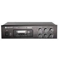 HIFI Bluetooth Mixer Amplifier Remote Control Dual Channel 60W Support U-Disk SD Card MP-2060U