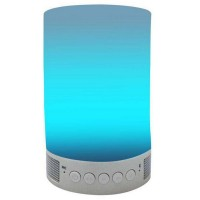 Smart Light Audio Colorful LED Wireless Bluetooth 4.0 Speaker Phone APP Control