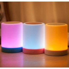 JOYFLY Smart Bluetooth Colorful LED Lamp Audio Speaker Stereo Sound Box Light Support TF Card