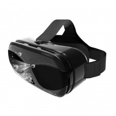 "Virtual Reality VR 3D Glasses Headset w/ Bluetooth Remote Controller Magnified 6.5X for 3.5-6.0"" Smartphone"