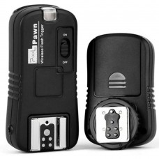TF-361 Wireless Remote Control Shutter Release Flash Trigger for Canon DSLR Cameras Transmitter Receiver