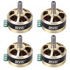 DYS SE2205 2550KV 3-5S CW&CCW Brushless Motor for FPV RC Drone Quadcopter 2 Pair