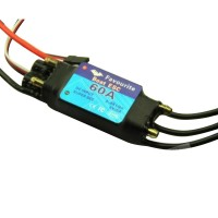 FVT 60A Waterproof Brushless Sensorless ESC Electronic Speed Controller for RC Boat