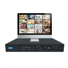 N160 Onvif NVR 16CH Network Video Recorder Face Recognition HDMI Output Interface Video Audio Cloud Storage