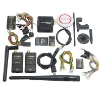 Mini Pixracer V1.0 Autopilot Xracer FMU V4 Flight Controller with OSD/PPM/M8N GPS/433Mhz 500mw Telemetry/SD Card for FPV - Black