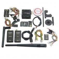 Mini Pixracer V1.0 Autopilot Xracer FMU V4 Flight Controller with OSD/PPM/M8N GPS/915Mhz 500mw Telemetry/SD Card for FPV - Black