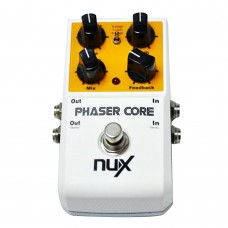 NUX Phaser Core Phase Shifter Modulation Stomp Effect Pedal Tone Lock Preset Function True Bypass Guitar Effect Pedal