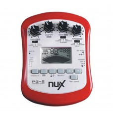 NUX PG-2 Practical Electric Guitar Effect Pedal Multifunctional Portable Guitarra Effect Two Tuning Modes