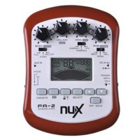 NUX PA-2 Acoustic Guitar Effect Multifunctional Guitar Parts 18 Types of Preset Two Tuning Modes