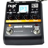 NUX Guitar Drive Force Modeling Stomp Simulator Electric Effect Effectors Pedals Musical Instrument Part