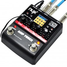NUX AMP Force Modeling Amplifier Simulator Guitar Pedal Electric Effect Pedal for Musical Instrument