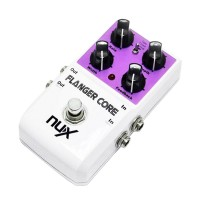 NUX Flanger Core DSP Effect Pedal Tone Lock Function Tape Flanger True Bypass