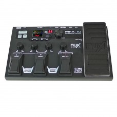 NUX MFX-10 Modeling Guitar Processor Guitar Effect Pedal Drum Recorder 55 Effect 72 Preset