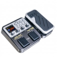 NUX MG-100 Modeling Guitar Processor Guitar Effect Pedal Drum Tuner Recorder with Modeling Processor