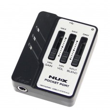 NUX Pocket Port Portable Guitar USB Audio Interface Professional Guitar Accessories