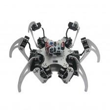 18DOF Aluminium Hexapod Spider Six Legs Robot Kit w/ 18pcs MG996R Servo& Ball Bearing -Silver