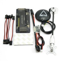 APM V2.8.0 ArduPilot UAV Flight Controller No Compass with Ublox Neo-7N GPS & Power Module for FPV Multicopter