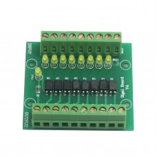 12V Input 5V Output Optocoupler Isolation Control Panel 8 Channel Isolated Input Signal Board Signal Conversion Module
