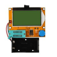 LCR-T3 Transistor Tester Graphical Diode Triode Capacitance ESR MOS PNP NPN
