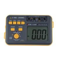 VC60B+ Digital Insulation Resistance Tester Megger MegOhm Meter 0.1-2000MOhm