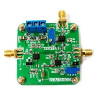 VCA810 AGC Voltage Controlled Gain Amplifier Board Tunable Attenuation Broadband Electronic Module