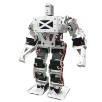 19DOF Biped Robot Humanoid Robot Full Kit for Combat Fighting Arduino DIY Robotics Assembled