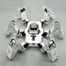 Hexapod Robot Six Leg Spider Full Kit with Servo Infared Remote Control for DIY Arduino Robotics