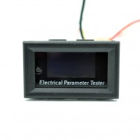OLED DC Voltage Current Meter 100V 10A Electrical Parameter Tester Power Temperature Energy Capacity Test
