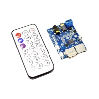 MP3 WAV WMA Decoder Board Lossless Audio Decoder AUX Amplifier TF Card+ IR Remote Control